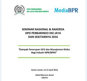 Seminar Nasional dan Rakerda DPD DKI dan Perbarindo